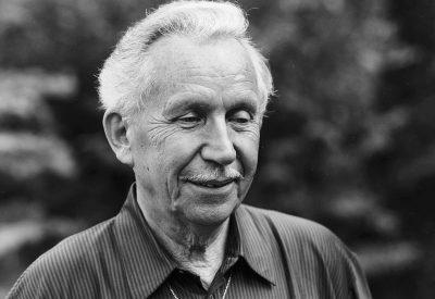 """1991 Lausanne, Valombré: le compositeur lors du tournage de """"Plans-Fixes"""""""